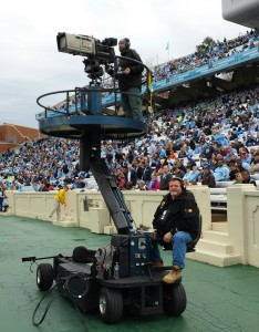True Grip and Lighting Sideline Camera Cart
